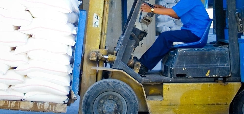 Staffing Agency Insurance Forklift