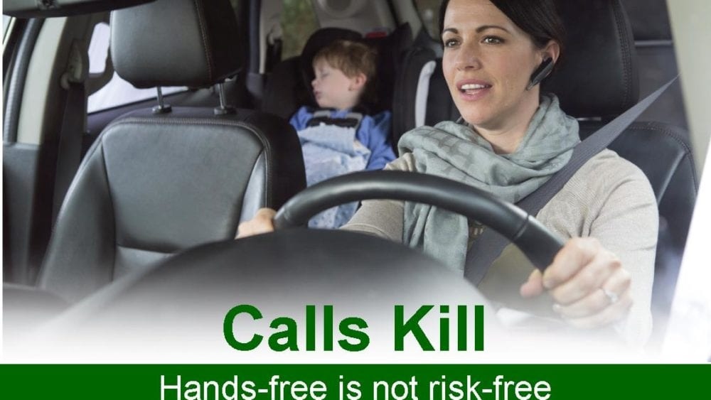Hands Free is not Risk Free