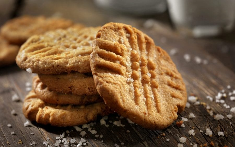 Peanut butter cookie business covered by in home business insurance.