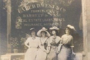 About Us, Caleb West Insurance Agency Historical Photo, original insurance office Newport News, VA