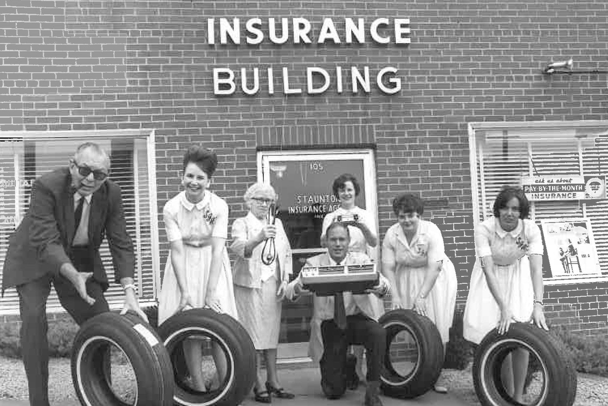 About Us, Staunton Insurance Agency Historical Photo