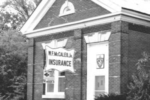 About Us, W F McCaleb Office October 1961, one of our original offices
