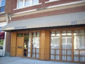Storefront of our Portsmouth, VA insurance agency office
