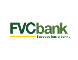 FVC Bank logo, green FVC Bank letters on transparent background.