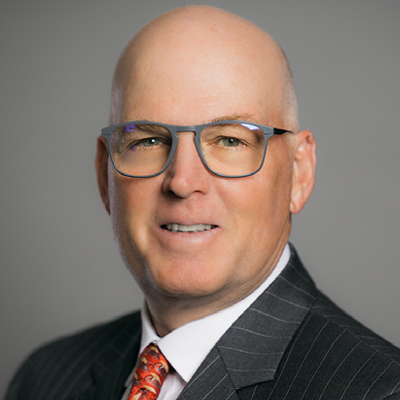 Portrait of Daryl Russell, a sales executive