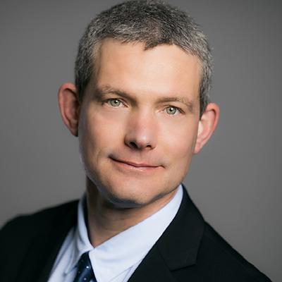 Portrait of Jay Stalfort, Sales Executive