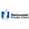 Nationwide Private Client Insurance Logo, flying eagle in front of blue capital N, next to black wording.