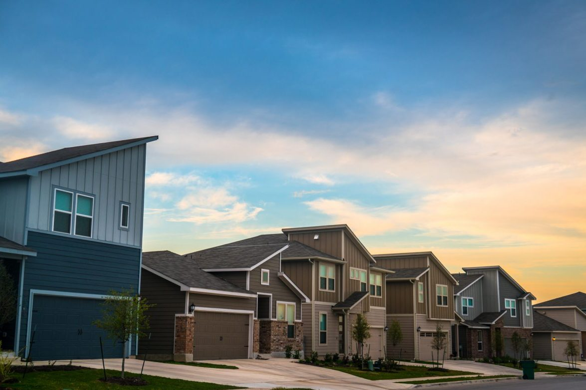 Suburban neighborhood illustrating rentals with landlord insurance.