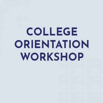 college orientation workshop
