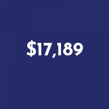 $17,189