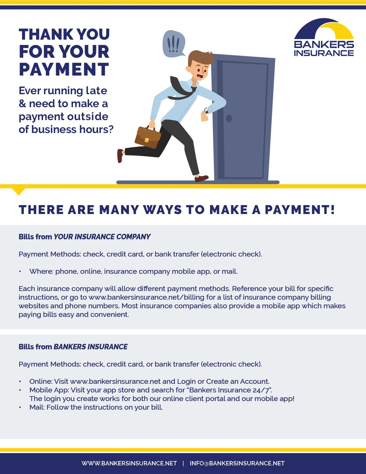 How to make a payment.