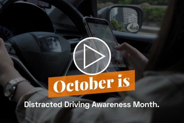 October is Distracted Driving Awareness Month | Bankers Insurance