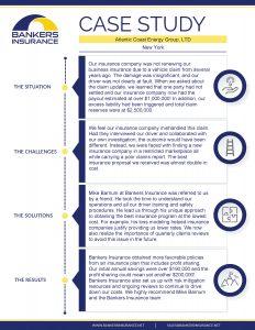 Insurance case study of Atlantic Coast Energy Group.