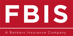 White FBIS letters on red background.